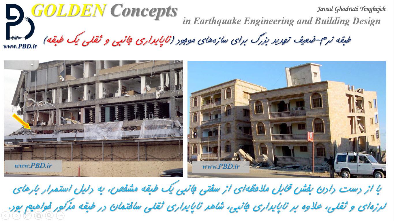 ناپایداری جانبی و ثقلی در ساختمانها چگونه اتفاق میافتد؟