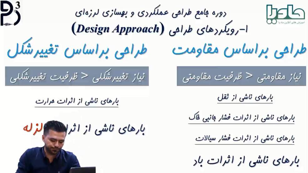 رویکردهای طراحی (طراحی براساس مقاومت و طراحی براساس تغییرشکل)